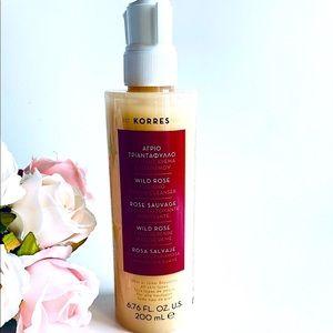 NEW Korres Wild Rose Foaming Cream Cleanser 200ml